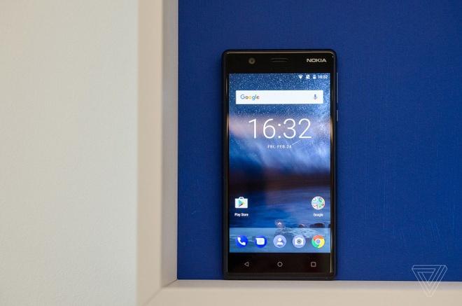 Anh thuc te Nokia 5 va Nokia 3: Khung kim loai, Android moi hinh anh 3