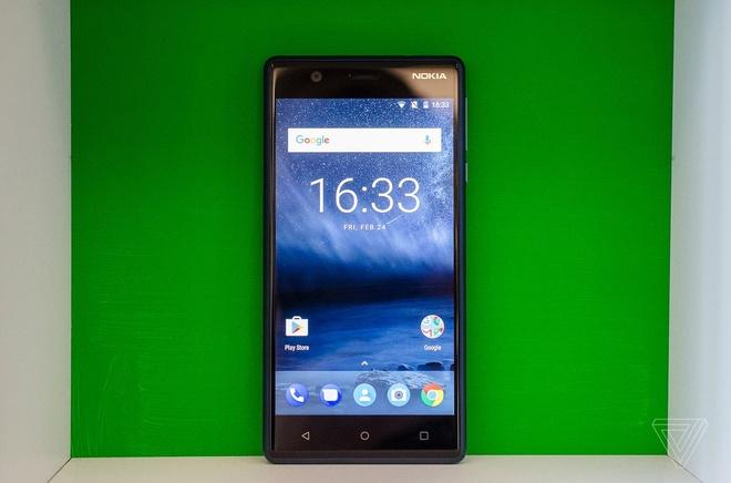 Anh thuc te Nokia 5 va Nokia 3: Khung kim loai, Android moi hinh anh 4