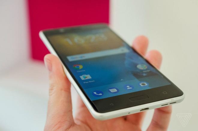 Anh thuc te Nokia 5 va Nokia 3: Khung kim loai, Android moi hinh anh 6