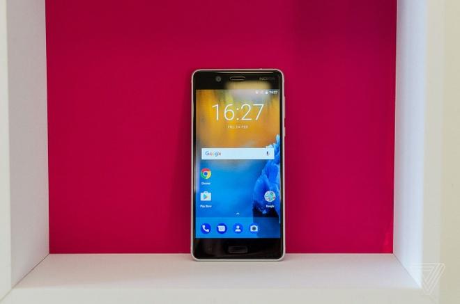 Anh thuc te Nokia 5 va Nokia 3: Khung kim loai, Android moi hinh anh 7