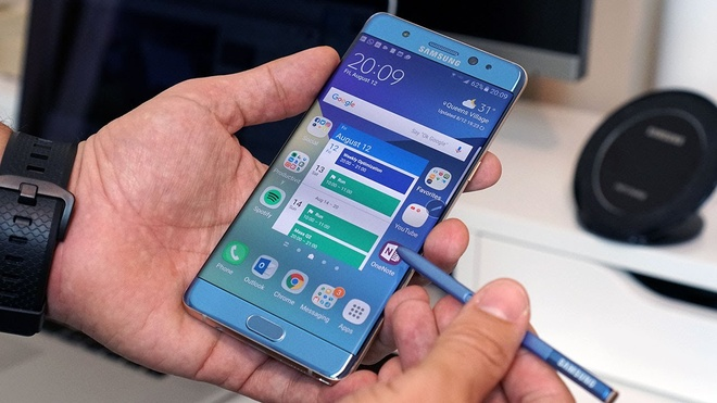 Galaxy Note 7 tro lai anh 1