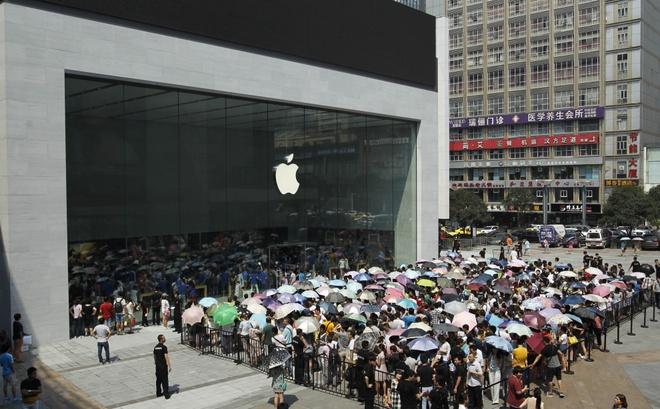 Hoi ket cho nhung cua hang nhai Apple Store o Trung Quoc hinh anh 11