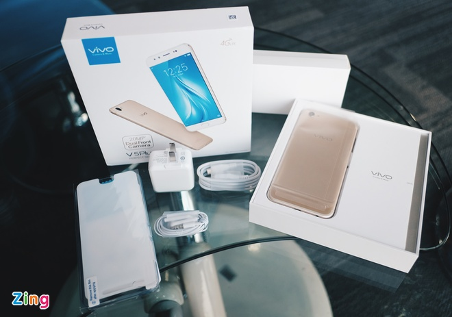 Mo hop Vivo V5 Plus camera kep selfie 'xoa phong' 20 MP hinh anh 2