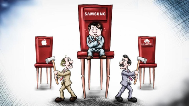 Cac hang di dong TQ dang tren da soan ngoi Samsung, Apple hinh anh