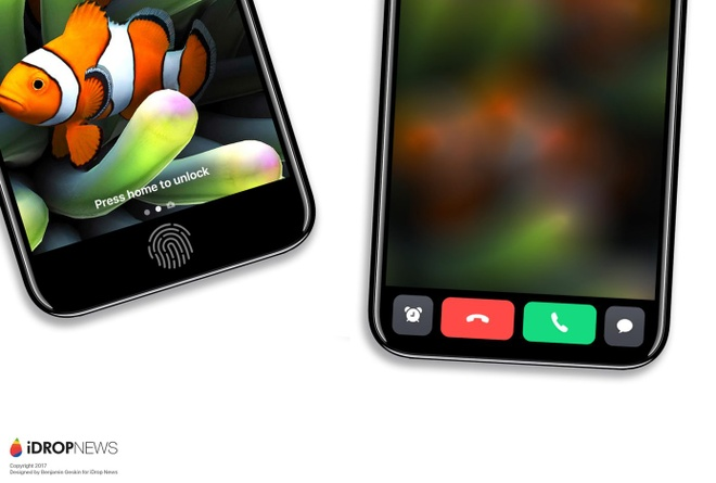 Thiet ke iPhone 8 co dai phim cam ung tuyet dep giong Macbook hinh anh
