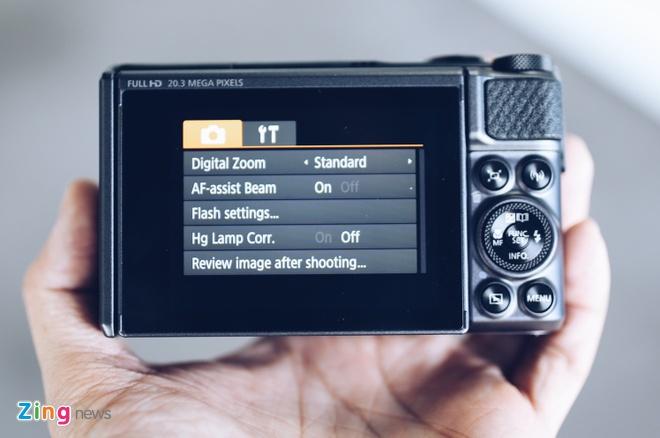 Canon SX730 HS - may anh sieu zoom lam min da khi selfie hinh anh 9