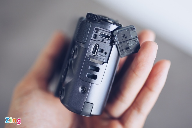 Canon SX730 HS - may anh sieu zoom lam min da khi selfie hinh anh 8