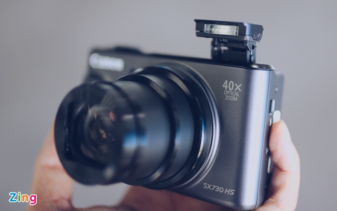 Canon SX730 HS - may anh sieu zoom lam min da khi selfie hinh anh 6