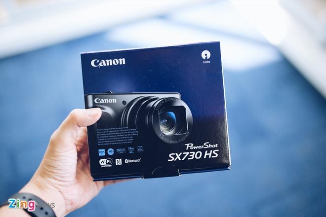 Canon SX730 HS - may anh sieu zoom lam min da khi selfie hinh anh 1