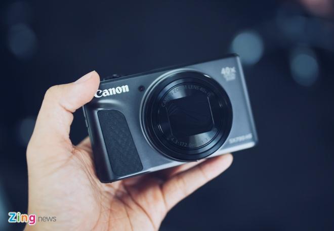 Canon SX730 HS - may anh sieu zoom lam min da khi selfie hinh anh 2