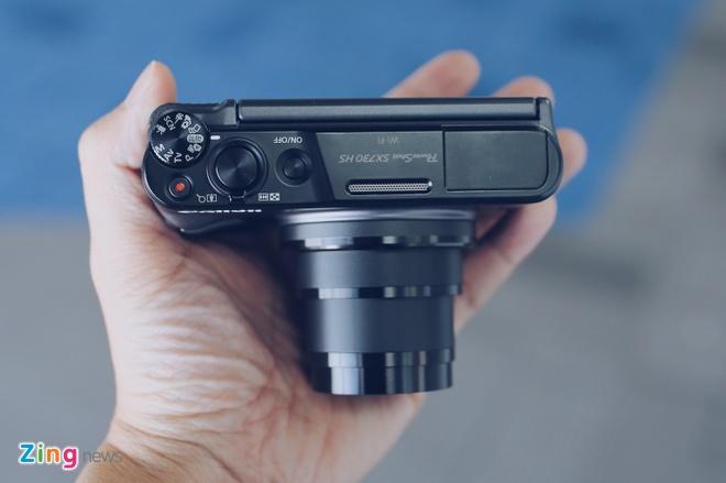 Canon SX730 HS - may anh sieu zoom lam min da khi selfie hinh anh 4