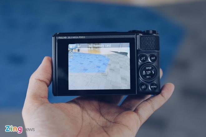 Canon SX730 HS - may anh sieu zoom lam min da khi selfie hinh anh 5