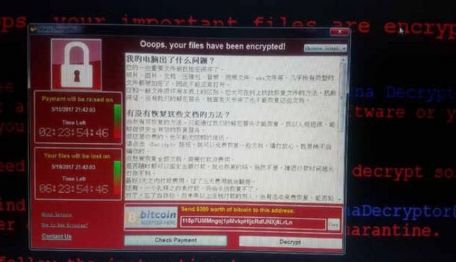 Trung Quoc te liet vi WannaCry anh 2