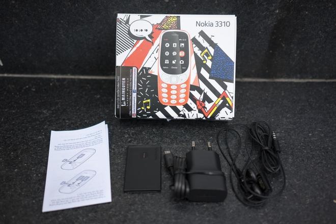 Mo hop Nokia 3310 gia hon mot trieu dong vua ban o Viet Nam hinh anh 3