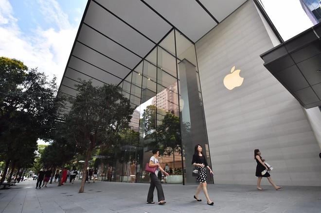 Apple Store mo o Singapore, xoa 'diem den' nguoi Viet tung chen lan hinh anh