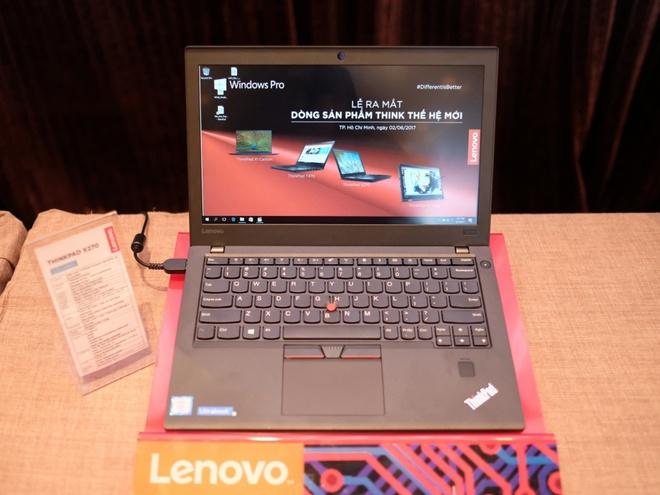 Lenovo ra loat laptop dong Think moi tai Viet Nam hinh anh