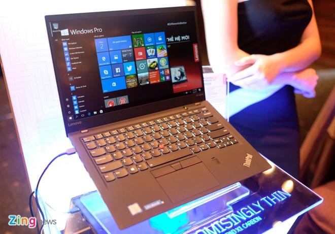 Lenovo ra loat laptop dong Think moi tai Viet Nam hinh anh 1