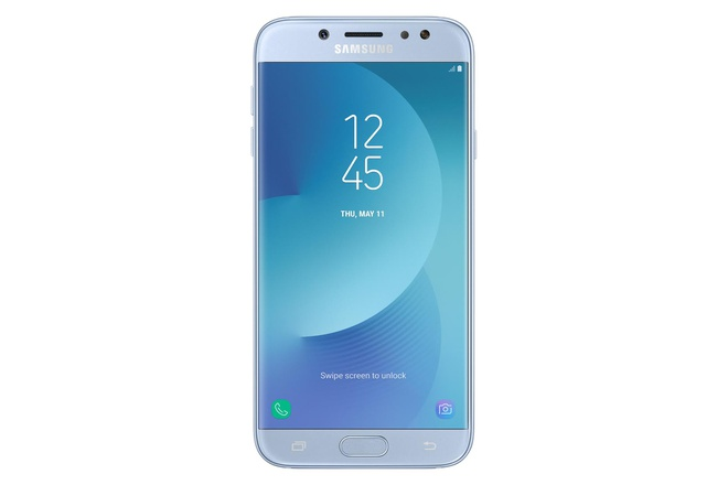 Galaxy J7 Pro ra mat: Thiet ke giong S8, gia 7 trieu dong hinh anh