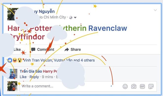 Cach ban phao hoa tren Facebook ky niem 20 nam Harry Potter hinh anh