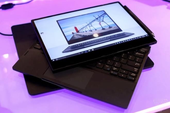 laptop sac khong day cua Dell anh 1