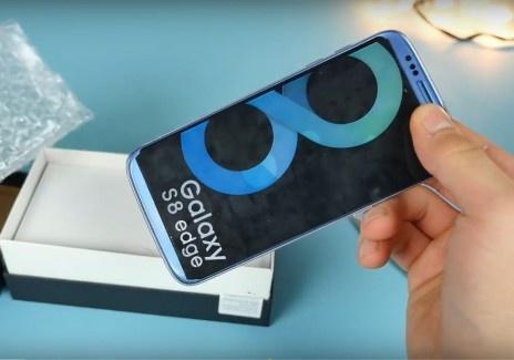 Smartphone nhai Galaxy S8 o Trung Quoc hinh anh