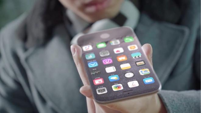 Thiet ke iPhone 8 hoan hao nhat: Man hinh phu qua tao, vien cam ung hinh anh