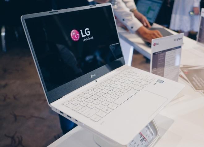 LG ra mat laptop nhe nhat the gioi tai Viet Nam hinh anh
