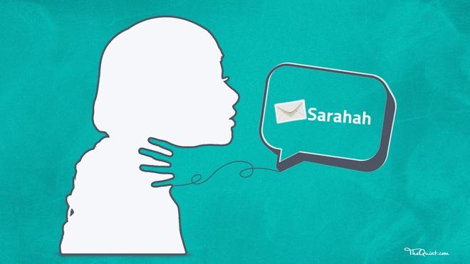 Ung dung Sarahah am tham lay danh ba nguoi dung hinh anh