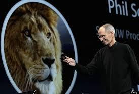 Steve Jobs phat am he dieu hanh Mac OS X hinh anh