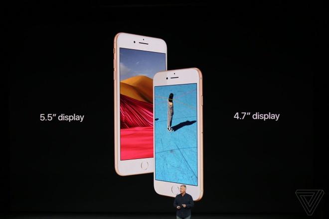 iPhone 8 va 8 Plus ra mat: Mat lung kinh, camera hoan toan moi hinh anh