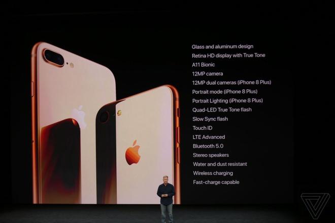 iPhone 8 va 8 Plus ra mat: Mat lung kinh, camera hoan toan moi hinh anh 2