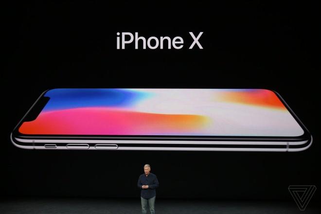 iPhone X ra mat: Man hinh sieu net, sac khong day, bo phim Home hinh anh 1