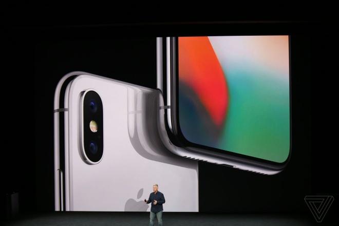 iPhone X ra mat: Man hinh sieu net, sac khong day, bo phim Home hinh anh 2