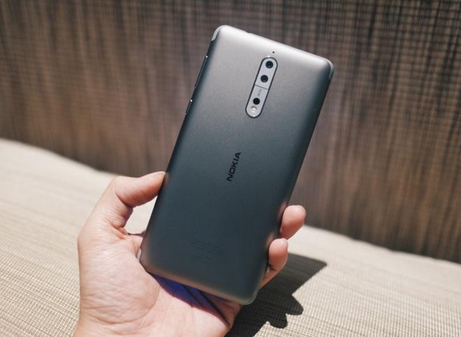 Anh Nokia 8 camera kep, Snapdragon 835, gia 13 trieu o VN hinh anh