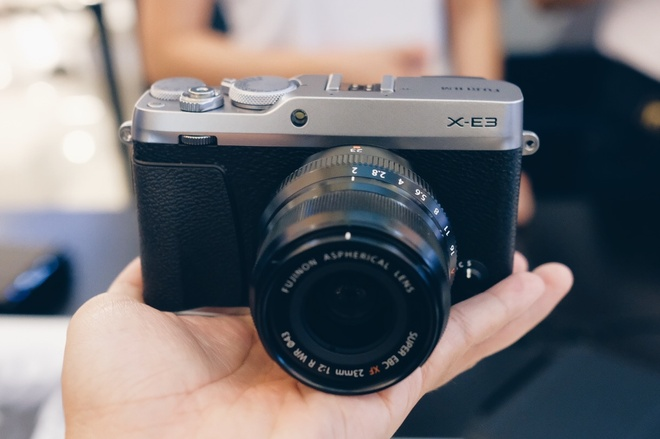 Fujifilm X-E3 ra mat o VN: Ban rut gon tu X-Pro 2, quay video 4K hinh anh