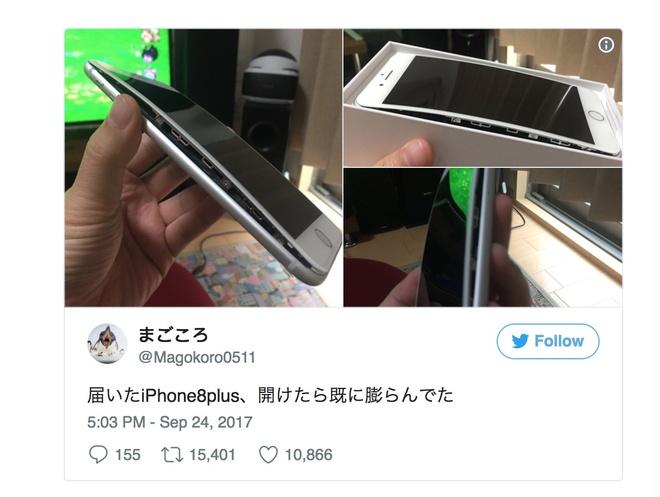 iPhone 8 bi phong pin hinh anh 1