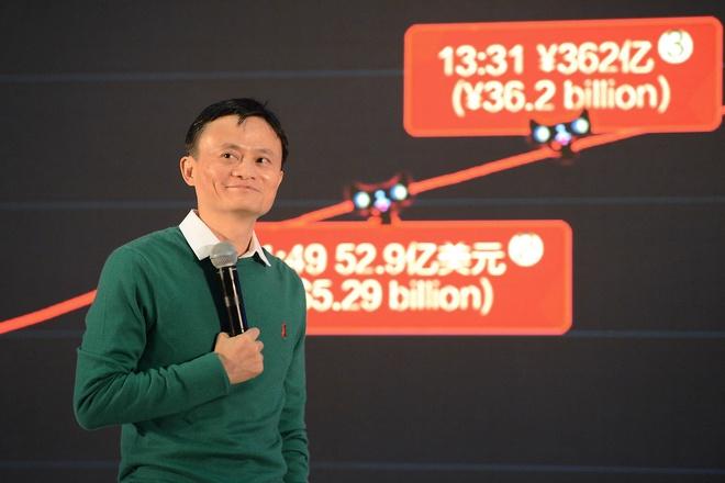 Alibaba cua Jack Ma vua thu ve 18 ty USD trong nua ngay hinh anh 1