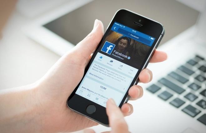 Facebook an nut xoa status tren ban web hinh anh