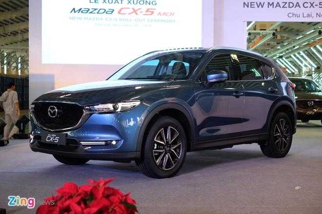 Gia xe Mazda CX-5 tang nhe thang 1/2018 hinh anh 1