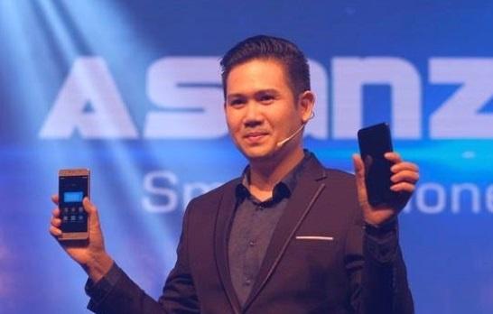 Asanzo nham muc tieu top 3 thi truong dien tu VN trong 2018 hinh anh