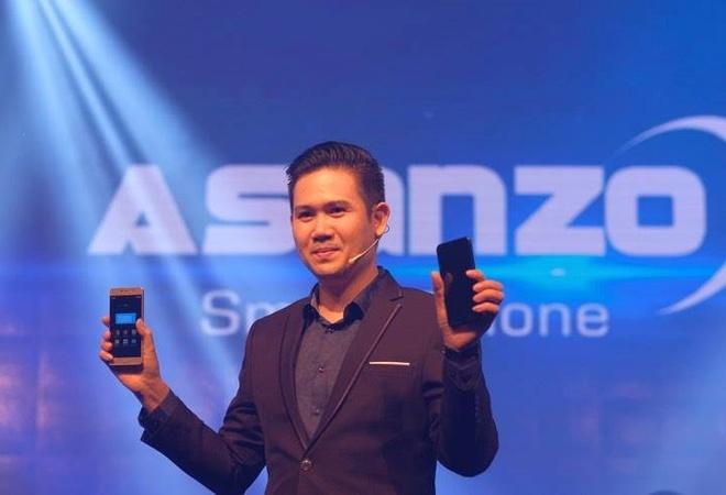 Asanzo nham muc tieu top 3 thi truong dien tu VN trong 2018 hinh anh 1