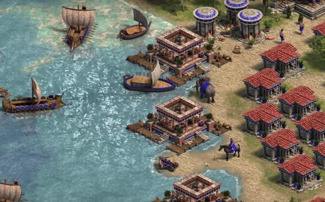 Trailer Age of Empires: Definitive Edition vua phat hanh tren Windows hinh anh
