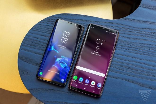 Samsung Galaxy S9 ra mat: Nang cap dang ke ve camera hinh anh 1