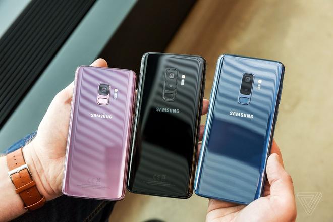 Samsung Galaxy S9 ra mat anh 2