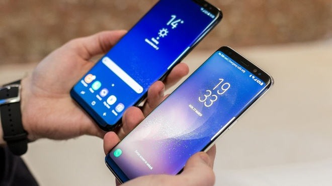 Samsung Galaxy S8, S8+ giam gia hang trieu dong tai VN hinh anh