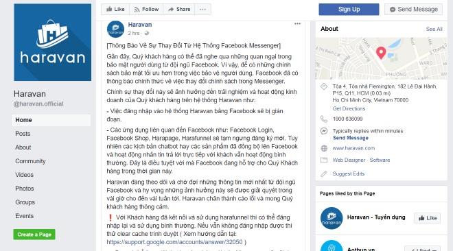Facebook dong API cac app o VN, gioi kinh doanh online nao loan hinh anh 1