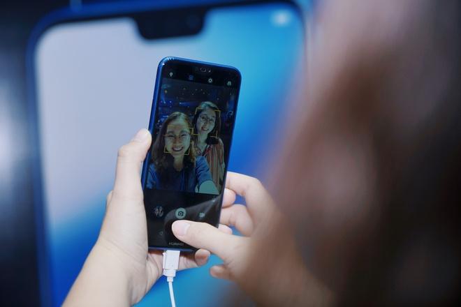 Huawei ra nova 3e o VN: Camera kep, man hinh tai tho, gia tu 6,9 trieu hinh anh