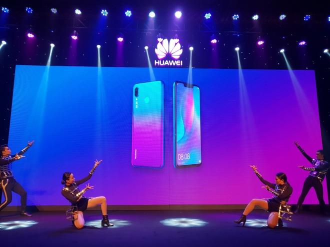 Nova 3i - smartphone dau tien co 4 camera 24 MP kem AI ra mat o VN hinh anh 11