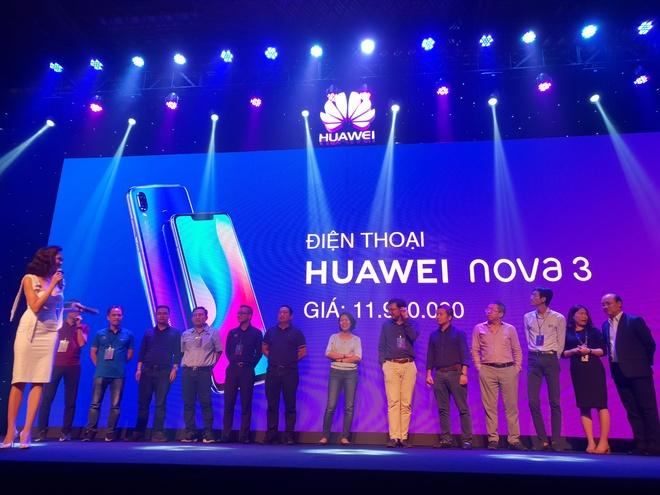 Nova 3i - smartphone dau tien co 4 camera 24 MP kem AI ra mat o VN hinh anh 21