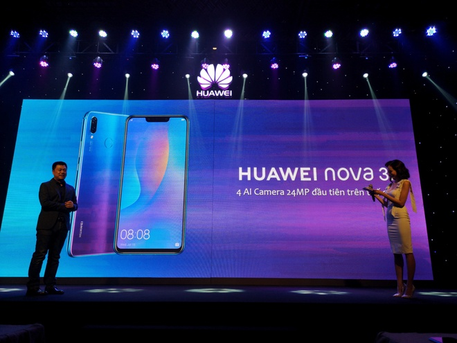 Nova 3i - smartphone dau tien co 4 camera 24 MP kem AI ra mat o VN hinh anh 9